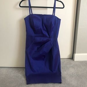 Calvin Klein Purple/Blue Cocktail Dress